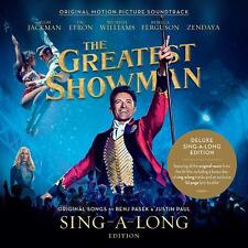 THE GREATEST SHOWMAN SING-A-LONG EDITION 2 CD - NEW RELEASE OCTOBER 2018