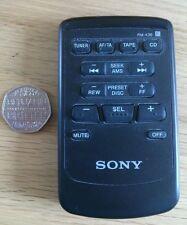 Sony RM-X36 commande à distance pour XR-U500RDS en voiture unité de tête. SUPER RARE!
