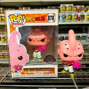 "Funko Pop Dragon Ball Z : Kid Buu Kamehameha #878 Vinyl Special Edition ""MINT"""
