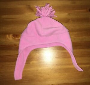 Girls Pink Fleece Hat - Age 1 - 2 years - Mothercare