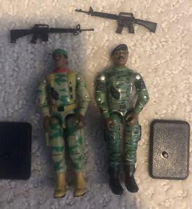 "Gi Joe Stalker Ranger Figure Lot Cobra ARAH O-ring 3.75"" Modern Army Retro Lot"