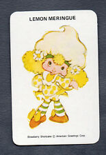 #800.1179 Blank Back Swap Cards -MINT- Lemon Meringue, shortcake series