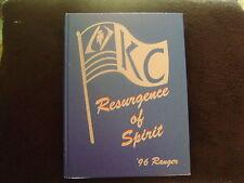 Kilgore College 1996 Ranger Yearbook Resurgence of Spirit, vol 59,>lp6