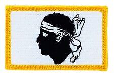 Toppe Toppa PATCH bandiera CORSE CORSICA CORSICAN  TERMOADESIVA