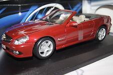 Mercedes SL 550 rot 1:18 Maisto neu & OVP 31169