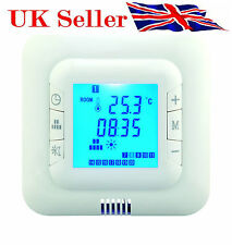 Digital Underfloor Heating Thermostat Floor& Air Sensor