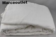 Coyuchi Organic Cotton Monterey Full / Queen Duvet Cover Alpine White