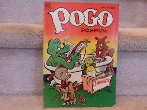 VINTAGE 1952 POGO Possum #9 Walt Kelly Comic Book April-June 15 Cent Bathtub