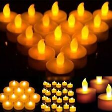 24X LED Candle Flickering Tea Light Battery Flameless Xmas Wedding Party Candles