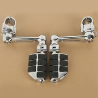 Chrome Adjustable Foot Rest Foot Pegs For Honda Goldwing GL1800 GL 1800