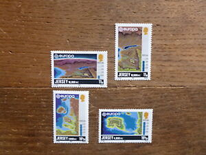 JERSEY 1982 EUROPA HISTORIC EVENTS SET 4 MINT STAMPS