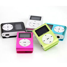 Mini MP3 Player Spieler mit Clip Musik Player Metall Aluminium Mit FM Radio heiß
