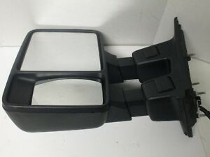 2008-2016 FORD F250 F350 SUPER DUTY LEFT SIDE TOWING SIGNAL MIRROR W/O COVER LH