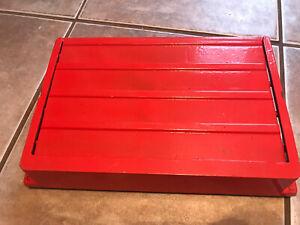 Metal Floor Vent Red Vintage Works Register 12x8   Grate Cover