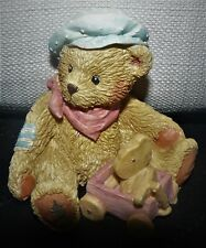 Cherished Teddies ` Harrison We're going places Brother Bear figurine 1992