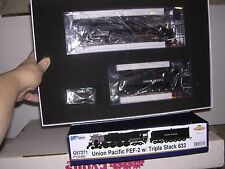 ATH/Genesis #G97271 Union Pacific FEF-2 4-8-4 Steam Loco #832 w/DCC & Sound H.O.