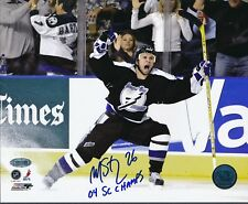 Martin St. Louis Lightning Signed 8x10 Photo Autograph Auto Steiner