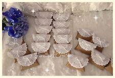 SCATOLINE bomboniere matrimonio-nozze  SHABBY complete di confetti alla mandorla
