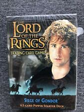 PIPPIN starter deck Siege of Gondor Lord of the Rings CCG TCG DECIPHER Sealed
