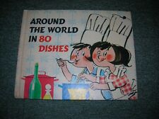 AROUND THE WORLD IN 80 DISHES., Van Der Linde. Polly and Tasha., Used; Good Book
