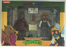 NECA Teenage Mutant Ninja Turtles Splinter vs Baxter Stockman Action Figures