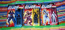 GI Joe Retro Collection Snake Eyes Storm Shadow Baroness Wave 1 Set of 3