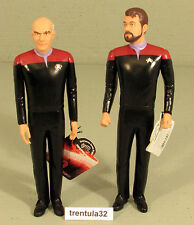 Star Trek Generations Captain Jean-Luc Picard Commander William T. Riker Figures
