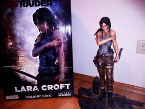 Lara Croft Tomb Raider Reboot Statue Nummer 546 von 1000 Gaming Heads