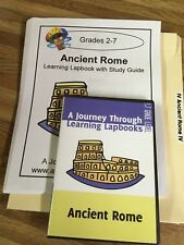 Journey Through Learning -A. Rome Lapbook  - CD & printout in folder