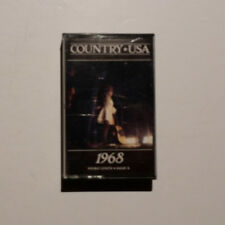 Country U.S.A. • 1968 / Various Artists (Time Life Cassette tape, used)