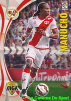 398 MANUCHO GONCALVES # ANGOLA RAYO VALLECANO CARD MGK LIGA 2016 PANINI