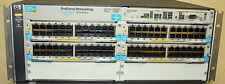 HP ProCurve 5406ZL J8697A with 4x J8702A  and 2x J8712A Dual AC PS 6xAvailable