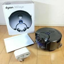 Dyson 360 Eye RB01NB Robot Vacuum Cleaner Cyclone Nickel Blue USED VERY GOOD