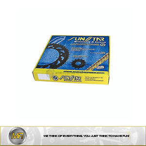YAMAHA TDM 850 1996 1997 1998 KIT CHAIN RDG 525 FRONT SPROCKET 17 REAR 42 TEETH