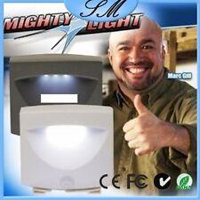 ENEM Mighty Light LED Motion Sensor Activated Night Light Indoor & Outdoor Lamp