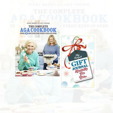Complete Aga Cookbook By Mary Berry & Lucy Young With Journal Brand New