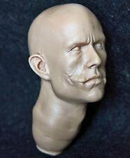 1/6 scale resin unpainted action figure head sculpt joker dark knight DX