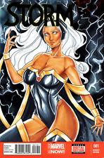 Marvel Comics STORM #1 Original Art Sketch Cover X-MEN GOLD Apocalypse GODDESS