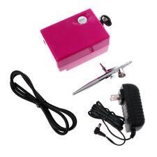 0.4mm 2CC Airbrush Compressor Kit Craft Mini Tattoo Nail Art Paint Spray Gun