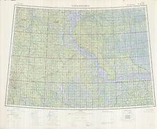 Russian Soviet Military Topographic Maps - KHANTYMANSIYSK (Rus.) 1:1Mio, ed.1968