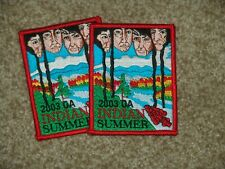 2 OA Indian Summer patches