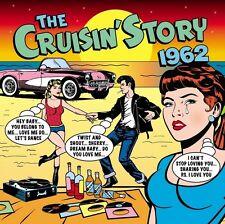 THE CRUISIN' STORY 1962 - 50 TRACKS  (NEW SEALED 2CD) THE BEATLES, THE SHIRELLES