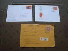 SUISSE - 3 enveloppes (cy87) switzerland