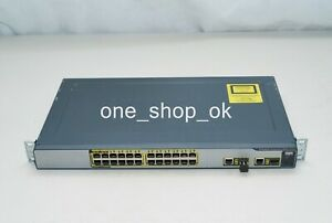 Cisco Express 500 CE500 Ethernet Switch 4 Ports POE/2 SFP Ports/1 Transceiver