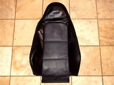 2000 BMW Z3 PASSENGER RH RIGHT SIDE UPPER BACKREST SEAT LEATHER CUSHION BLACK