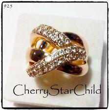 Ring Sterling Silver 14k Vintage & Antique Jewellery