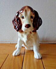 Sylvac Brown Spaniel Dog Figurine, model 18 sitting