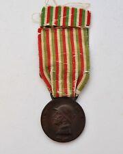 Italie: Médaille commémorative 1915-1918