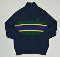 NWT Men's Tommy Hilfiger 1/4 Zip  Neck Pullover Sweater