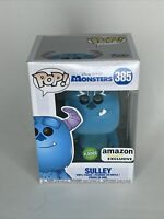 Funko Pop! Sully Flocked #385 Monsters Inc Amazon Exclusive Great Condition